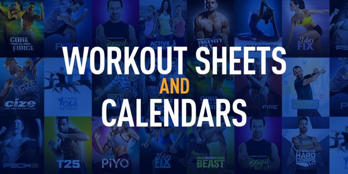 Workout Logs Workout Sheets And Calendars  Workout Sheets
