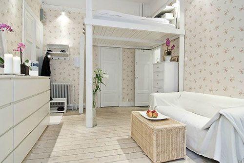 Hoogslaper small apartment ideas bedroom room loft