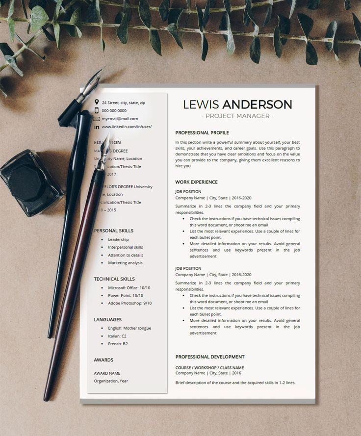 7 save time and effort with this executive resume