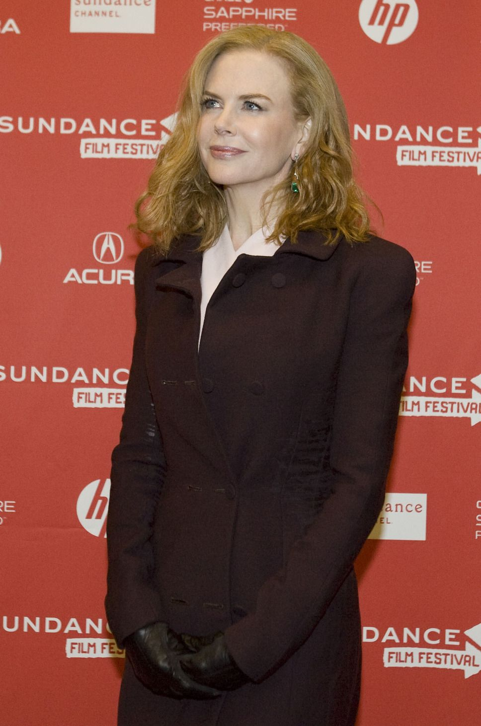 "Actress Nicole Kidman at Sundance for the premiere screening of ""Stoker."""