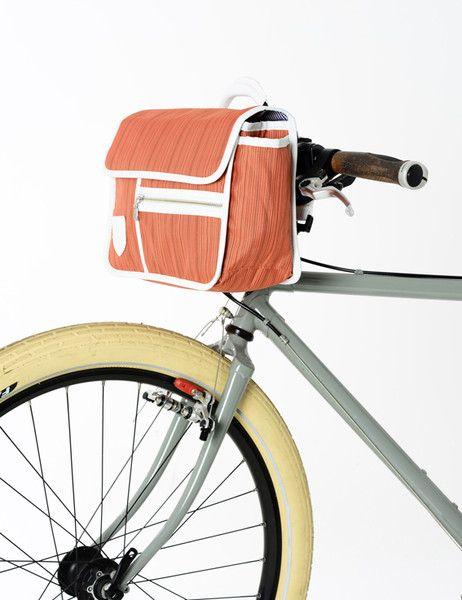 Bolsa para guiador Goodordering | Ferrugem - Go By Bike, bicicletas, atrelados, aluguer de bicicletas e publicidade