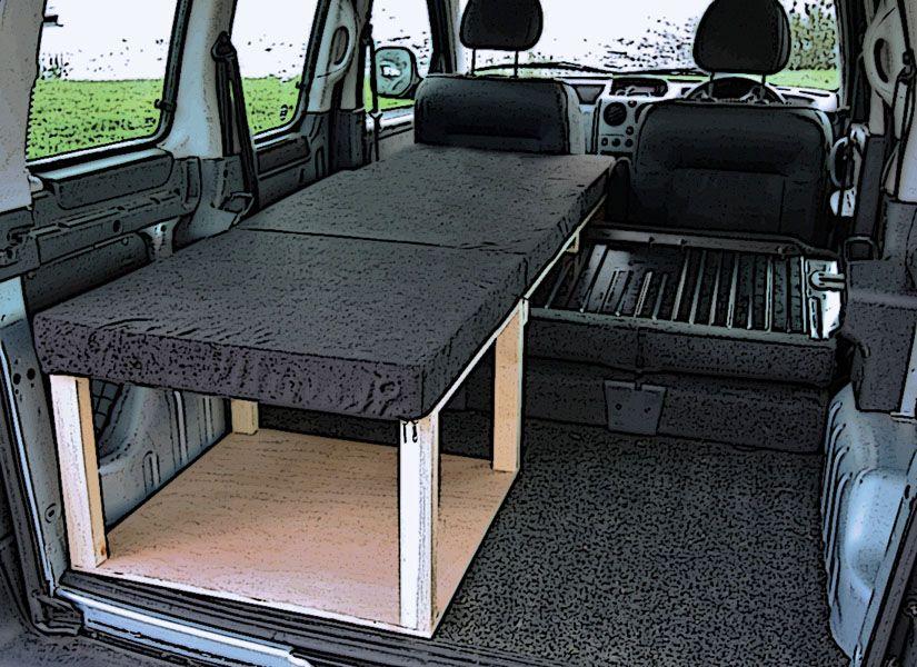 Citroen Berlingo Peugeot Partner Camper Van Conversion Module Small Camper Vans Suv Camper Campervan Conversions