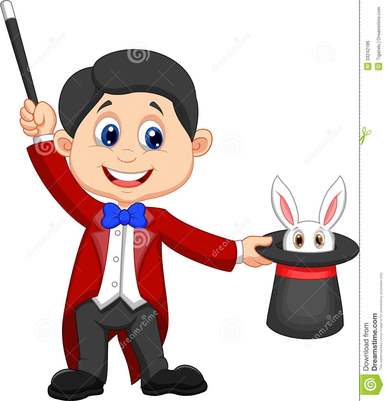 A Magician Holding Top Hat With Rabbit In It Stock Photos Bunny Ring Universal Up To 55 Inch