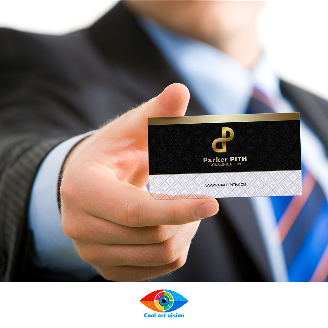 Carte De Visite Business Reference CARD L01 Exemple Pour
