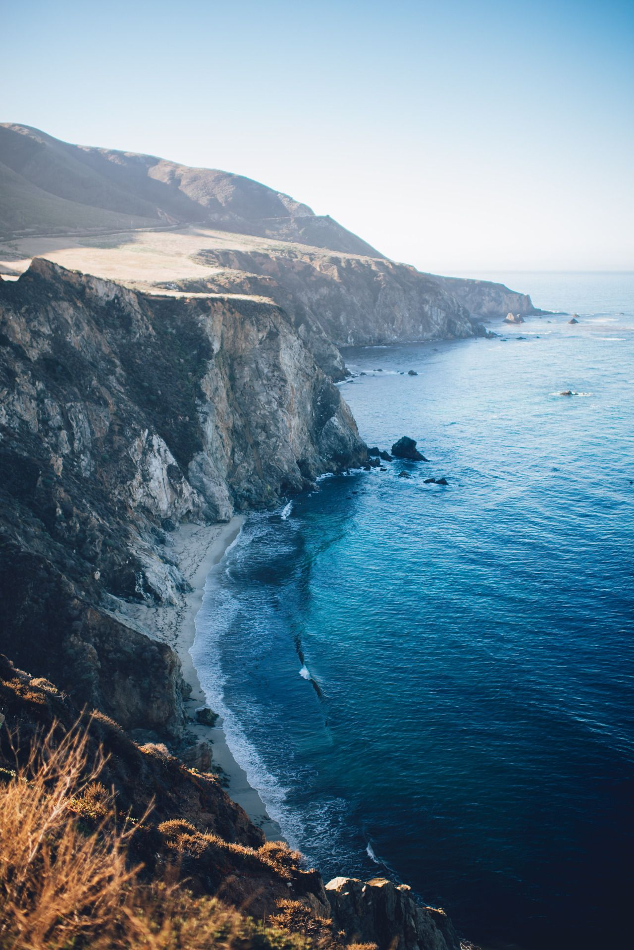 Bixby Creek Bridge, Monterey (US) | by Ian Schneider This photo as wallpaper on your smartphone? Get the app now!