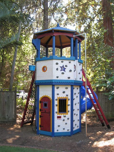 barbara butler extraordinary play structures for kids octagon tower. Black Bedroom Furniture Sets. Home Design Ideas