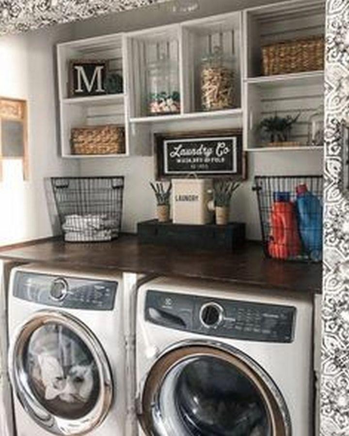 Photo of ✔️ 95 Unglaubliche kleine Deko-Ideen für Waschküchen 59 # Waschküchen ✔️ …