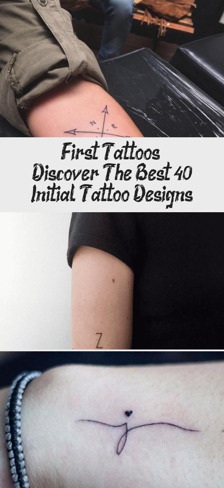 First tattoos  Discover the best 40 Initial Tattoo Designs initial tattoo