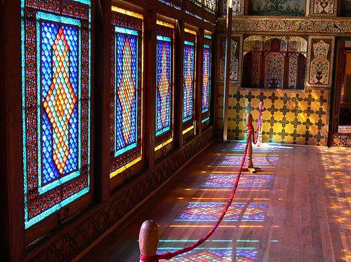 Sheki Khan Palace Səki Xan Sarayi Skyscrapercity Palace Central Hall Azerbaijan Travel