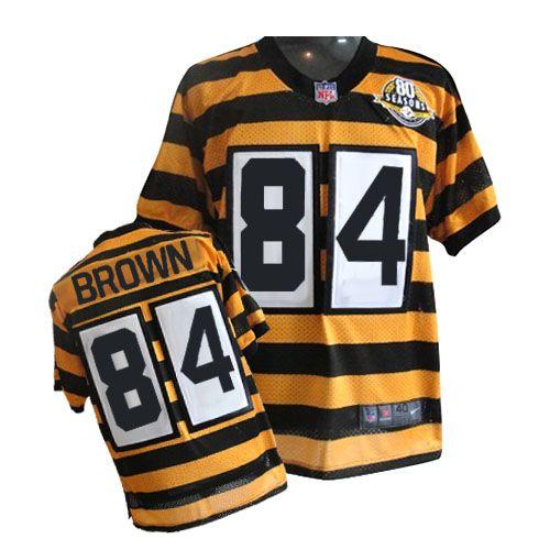 Nike Limited Mens Pittsburgh Steelers #84 Antonio Brown 80th ...