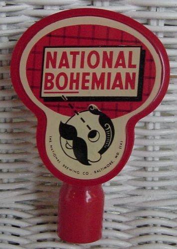 73c997d1b Vintage National Bohemian Beer Red Bakelite Tap Knob Bohemian Beer, Natty  Boh, American Beer