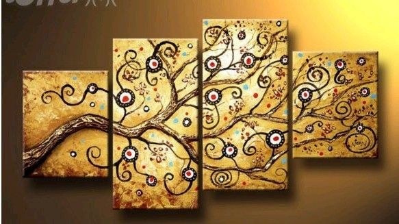 modern abstract huge canvas art decor oil painting   wall canvas