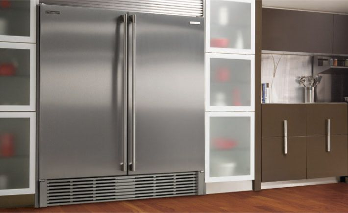 Electrolux Built In Refrigerator And Freezer