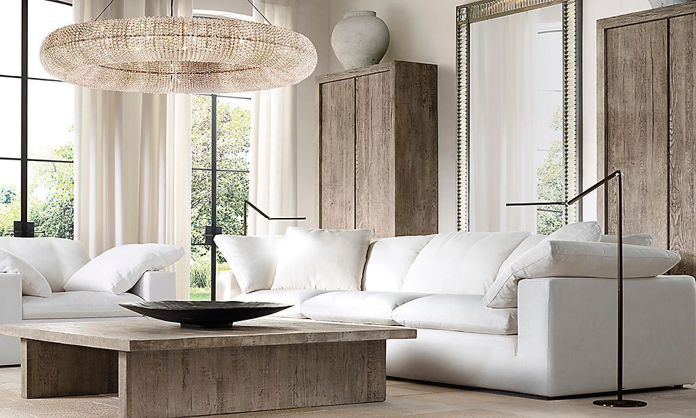 Elevate your living room decor with stylish modern lighting