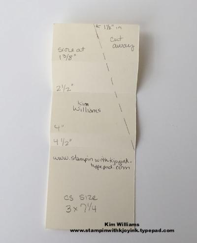 A Unique Card Fold Idea