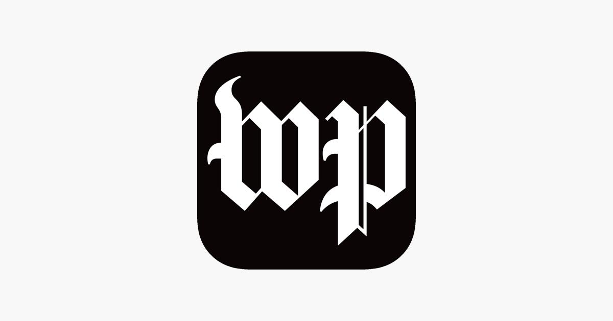 Washington Post App Typographic Design Icon Design Typographic
