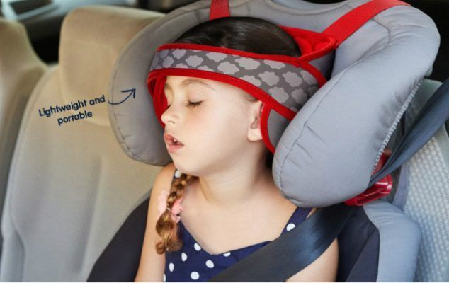 The Best Car Seat Head Support Is Finally Here So Your Baby Toddler Can Nap Comfortably In NapUp Ad