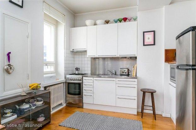 42,5m² Köydenpunojankatu 15, 00180 Helsinki Kerrostalo yksiö myynnissä   Oikotie 9248736