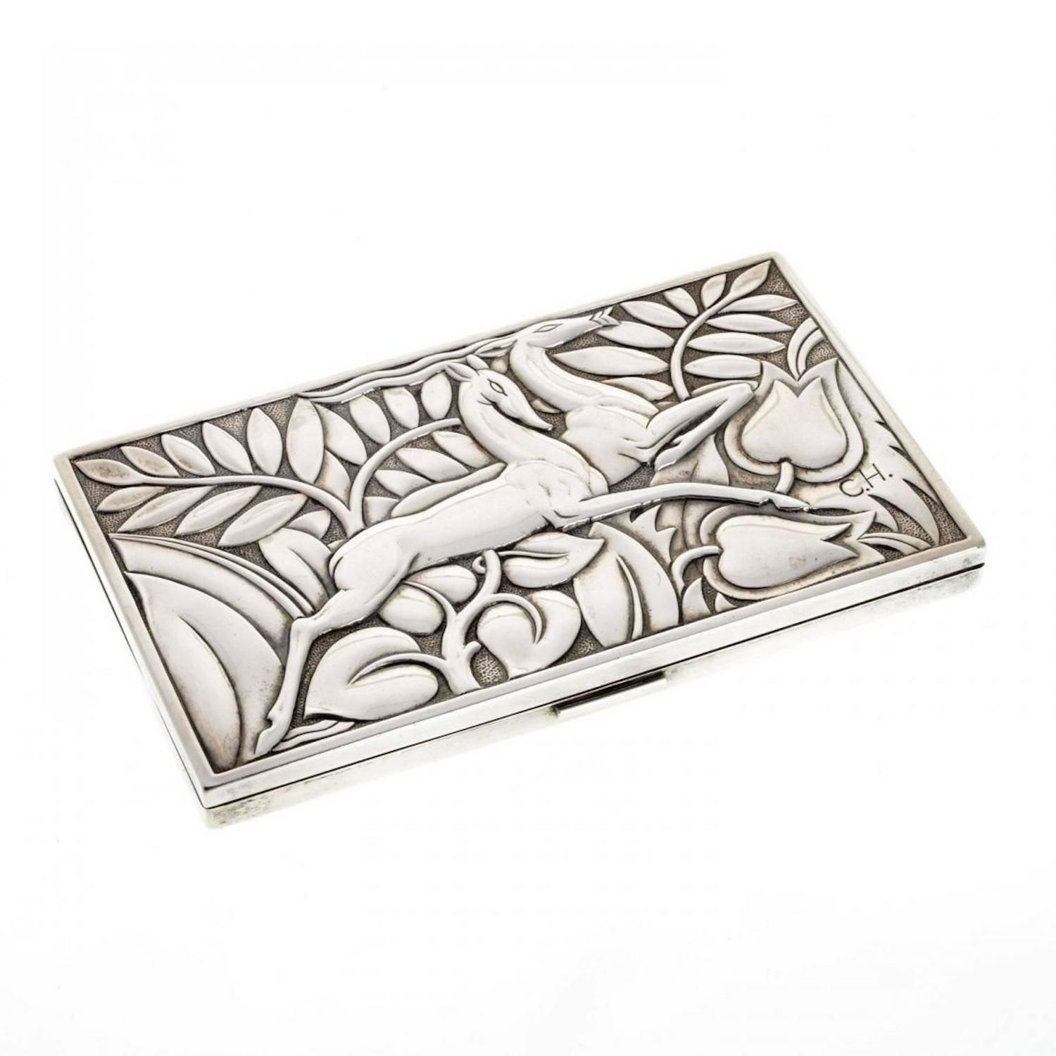 Art Deco Sterling Box From A Unique Collection Of Antique And Modern Bo At Https Www 1stdibs Furniture Decorative Objects