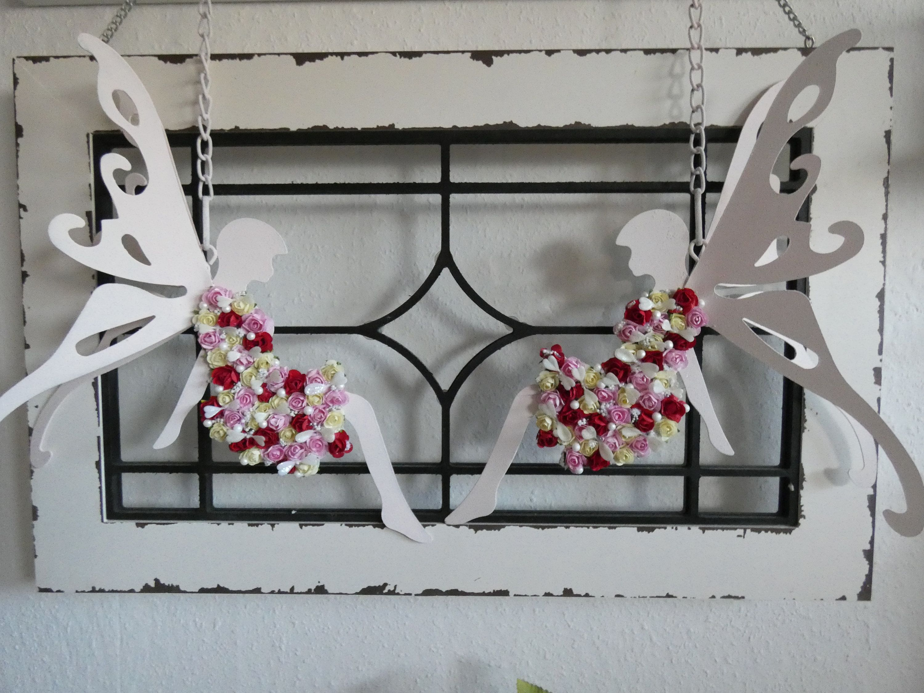 Set Shabby Deco Nursery Deco Girl Living Deco Wall Deco Living Room Elves Fee
