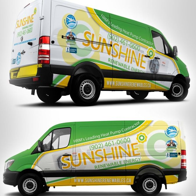 81d020d63a Design a Stunning Vehicle Wrap for our (2) New Sprinter Vans! by warsvictim
