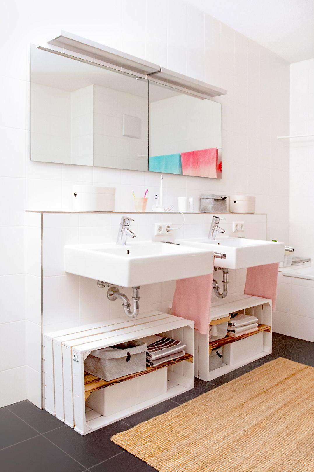 Badezimmer Unterschrank Ideen