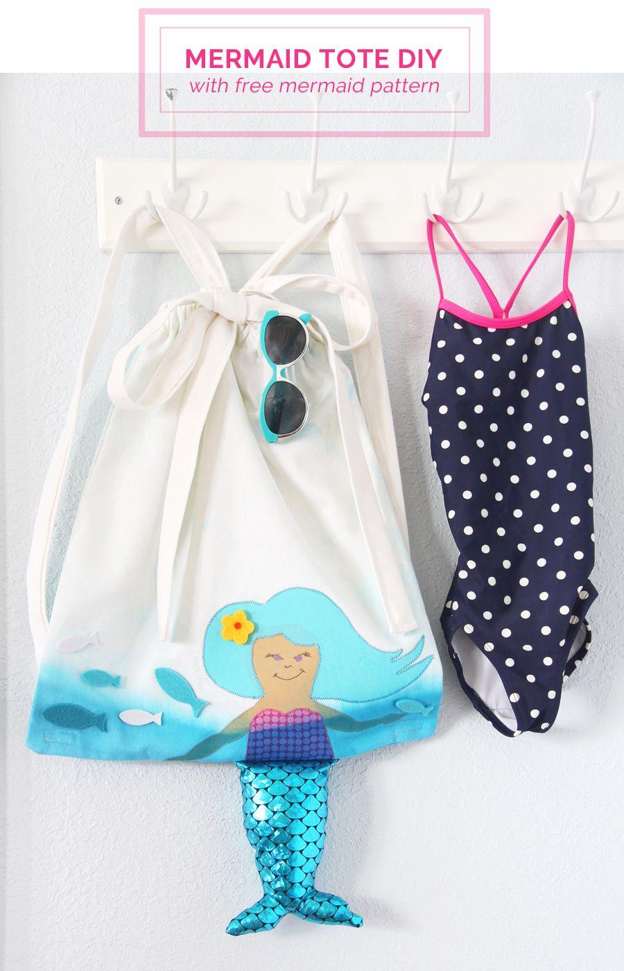 Mermaid Backpack | Patterns, Free pattern and Tutorials