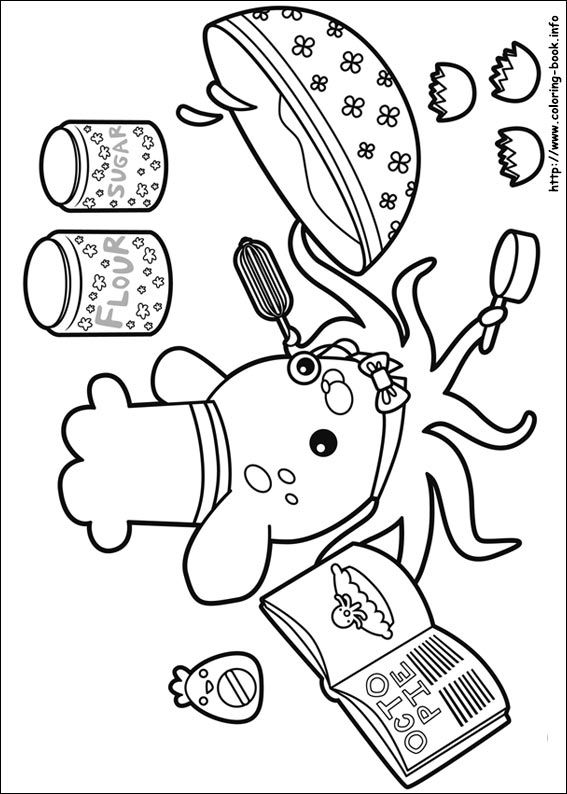 The Octonauts Coloring Picture Free Coloring Pages Coloring Pages Coloring Books