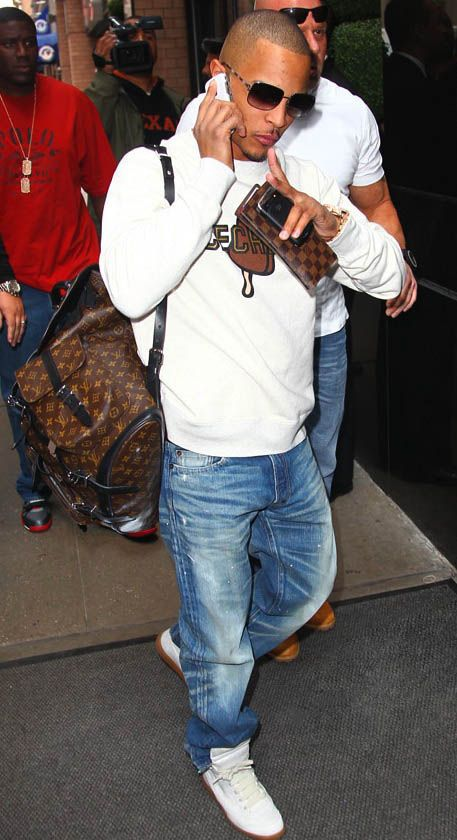 Kanye West Wearing Louis Vuitton Shoes