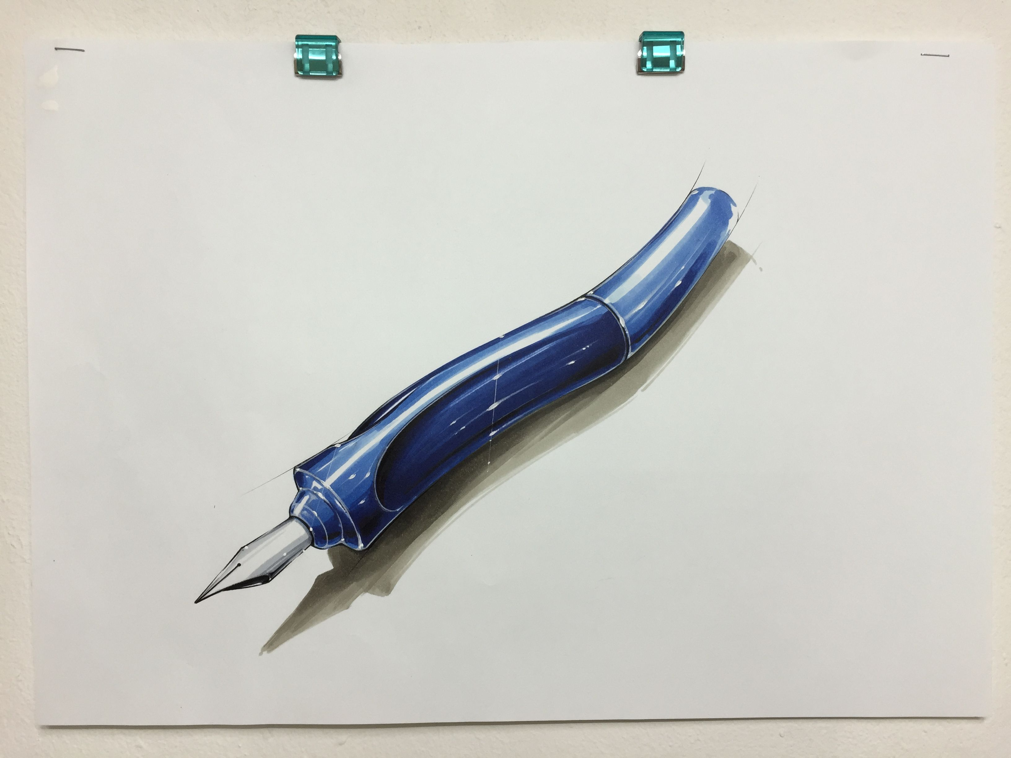 Pen sketch rendering | My sketch & marker rendering | Pinterest