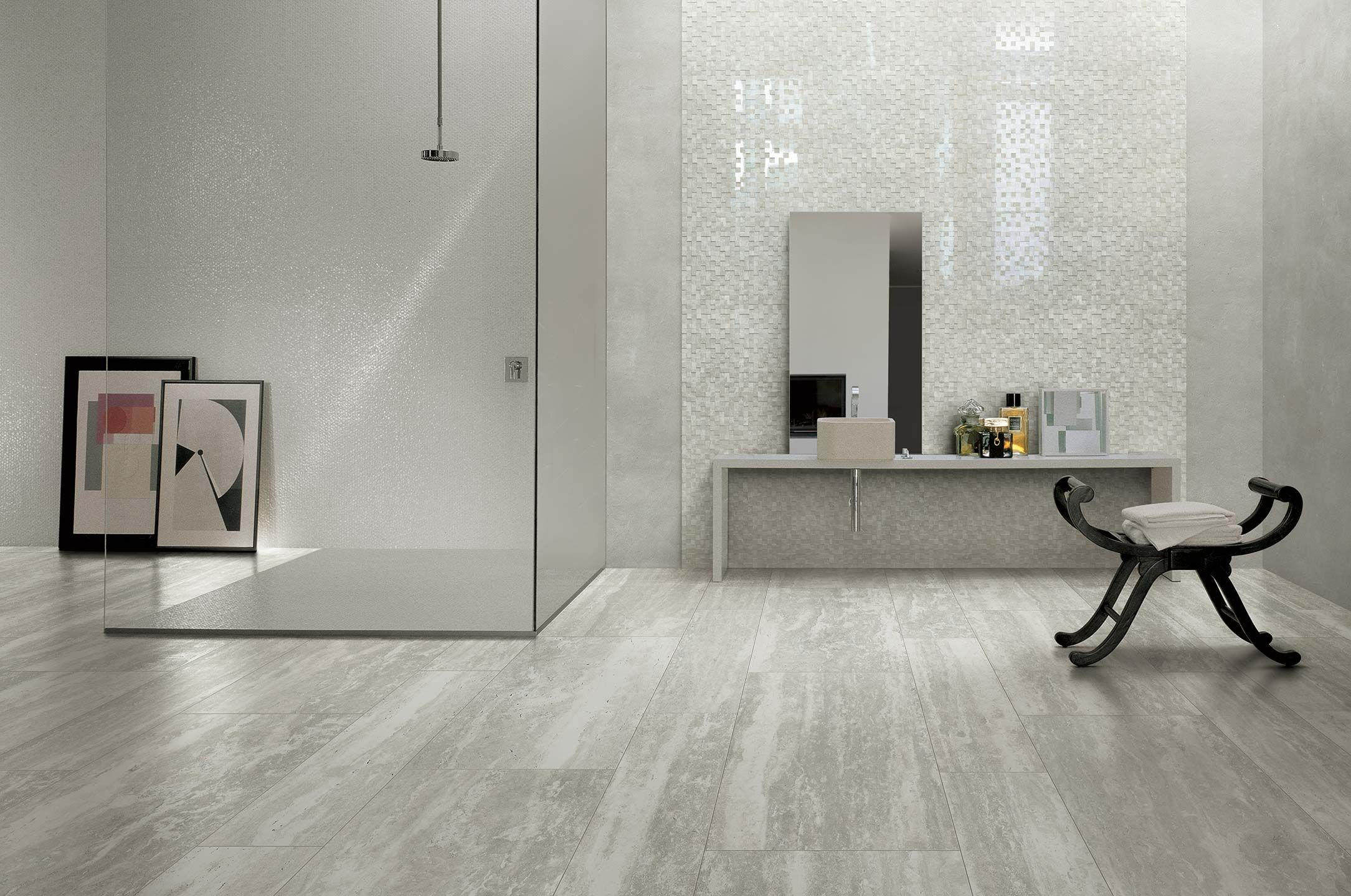 A Porcelain Collection Ispired By The Travertino Natural Stone I