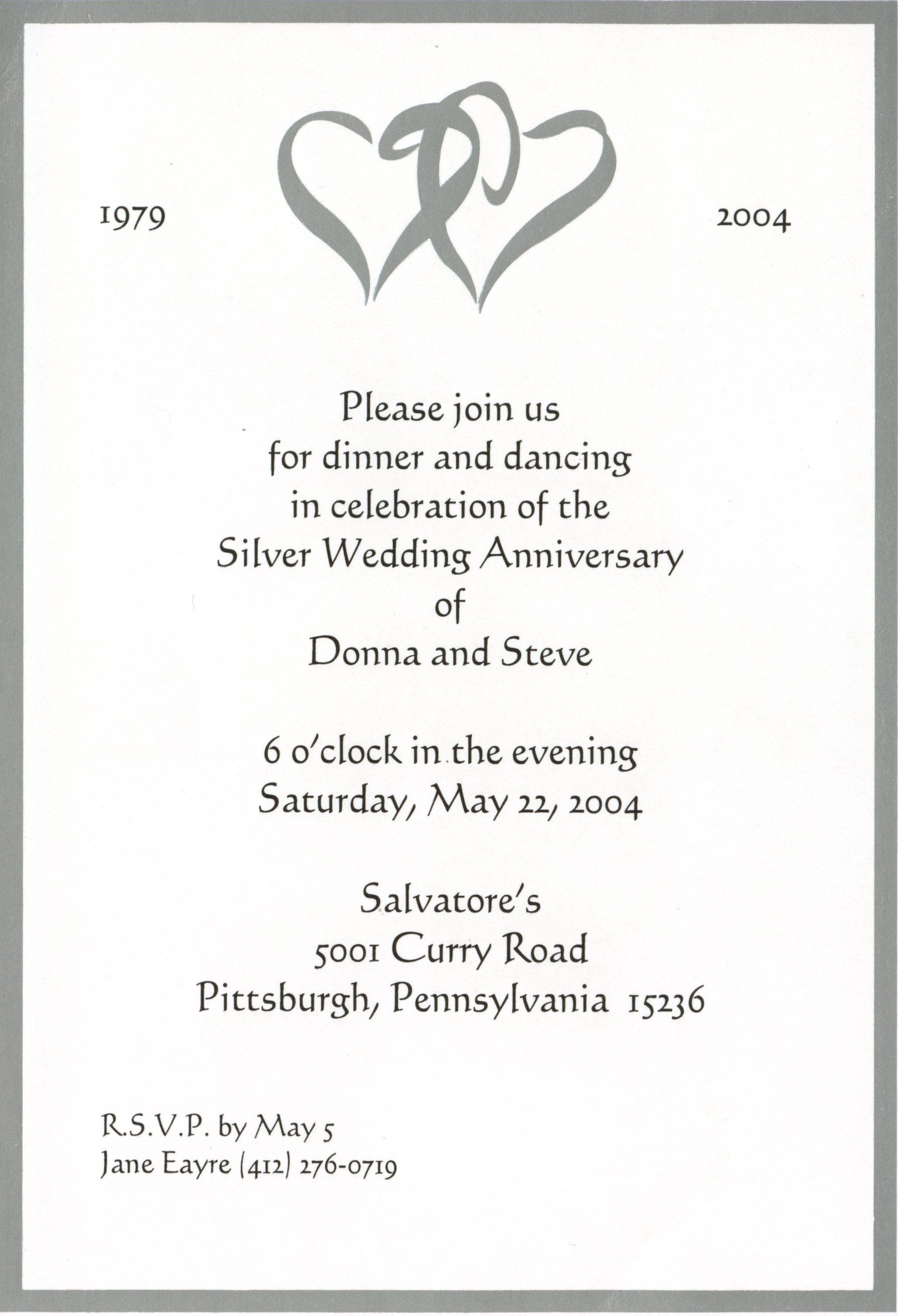50th Wedding Anniversary Invitation Templates Awesome