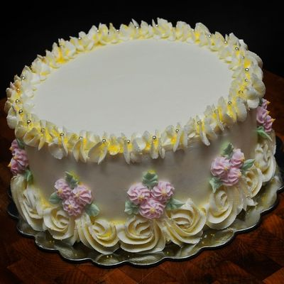Could Add A Top Tier And Make A Belle Cake Cake Designs Birthday Cake Birthday Cake Decorating