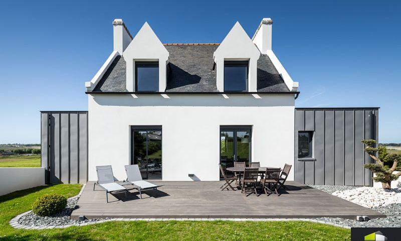 r sultat de recherche d 39 images pour coupe maison traditionnelle bretonne extensions. Black Bedroom Furniture Sets. Home Design Ideas