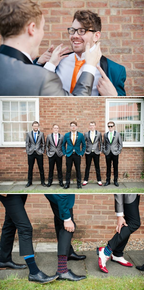 quirky groom groomsmen http://www.georgimabee.com/