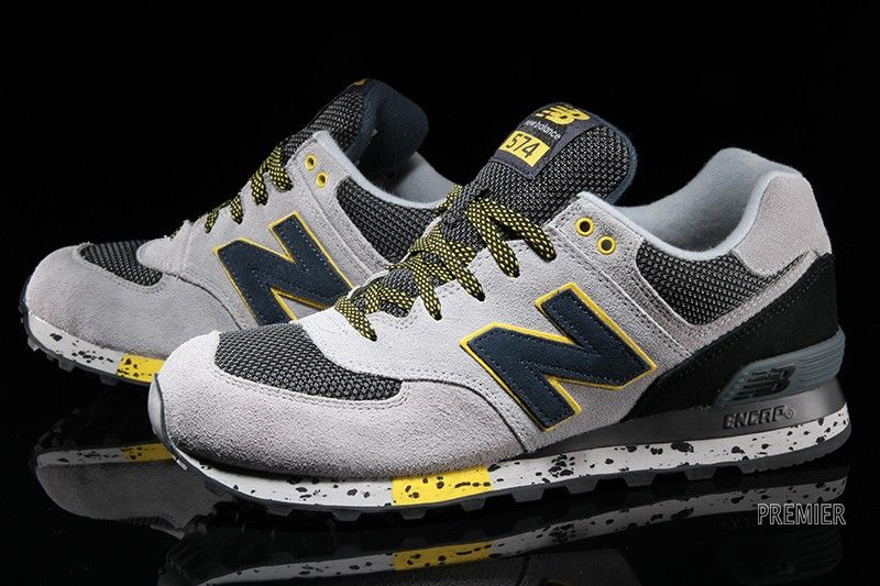 Footwear. New Balance 574Gray YellowRetro ...