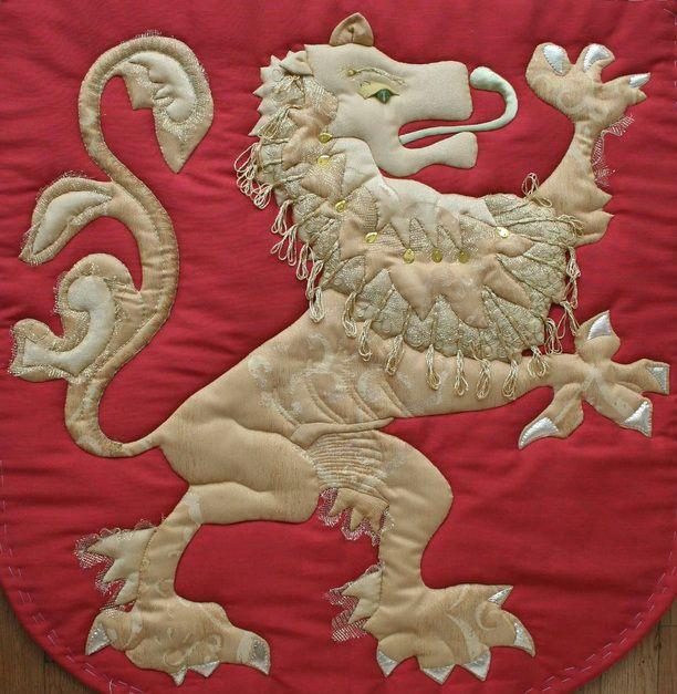 Banner at Museum Kasteel Doorwerth te Doorwerth – Nederland Design and embroidery by Margreet Beemsterboer www.needles@work.com
