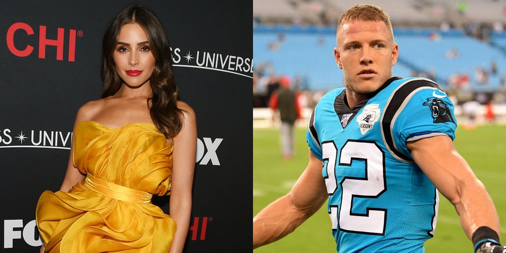 Olivia Culpo Dishes On Relationship With Boyfriend Christian Mccaffrey An Nfl Player National Football League News Christian Mccaffrey Olivia Culpo Nfl News