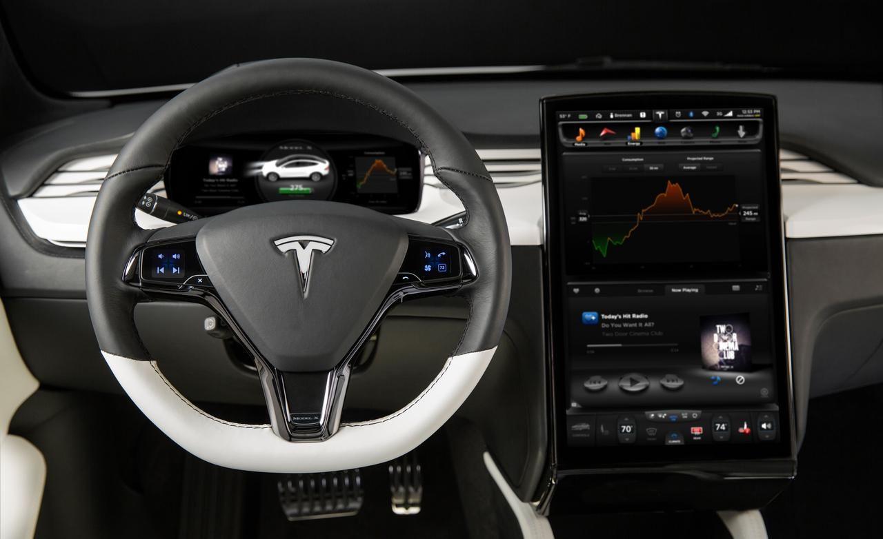 ... Tesla Car Interior Pictures Tesla Image ...