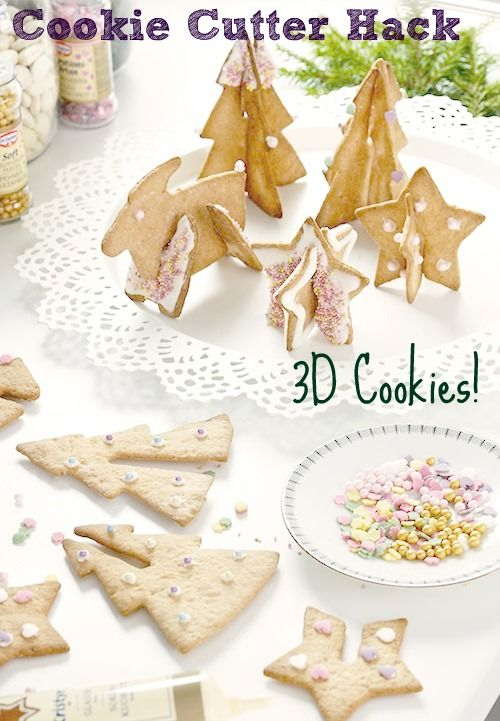 Cookie Cutter Hack 3d Cookies Cookie Cutters Ikea Christmas