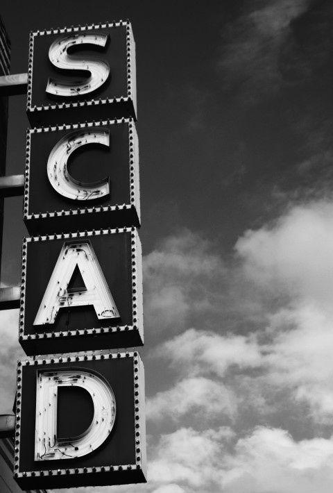 The Scad Sign Tumblr Savannah Chat College Art Dream School