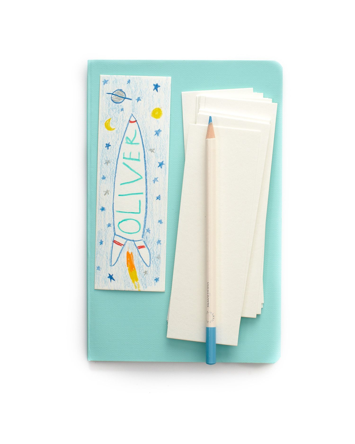 Your camper and his bunkmates can personalize these blank bookmarks ...