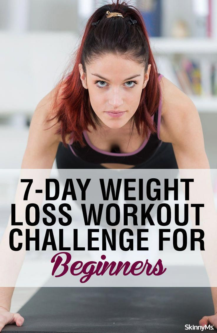 This 7-Day Weight Loss Workout Challenge for Beginners is for anyone who wants to lose weight and in...