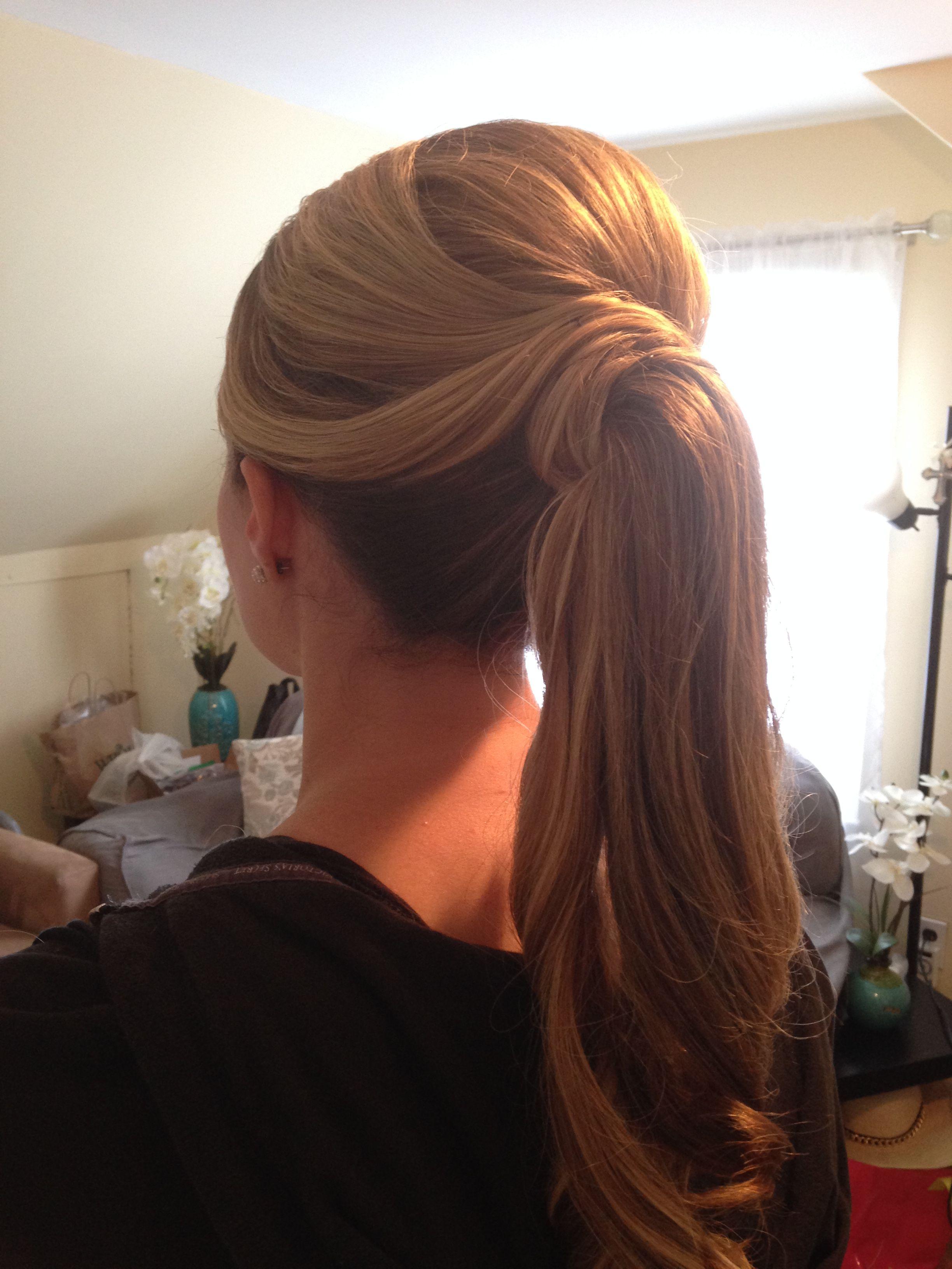 Fancy Ponyta Wedding Hairstyles Sweet 16 Proms My Creative