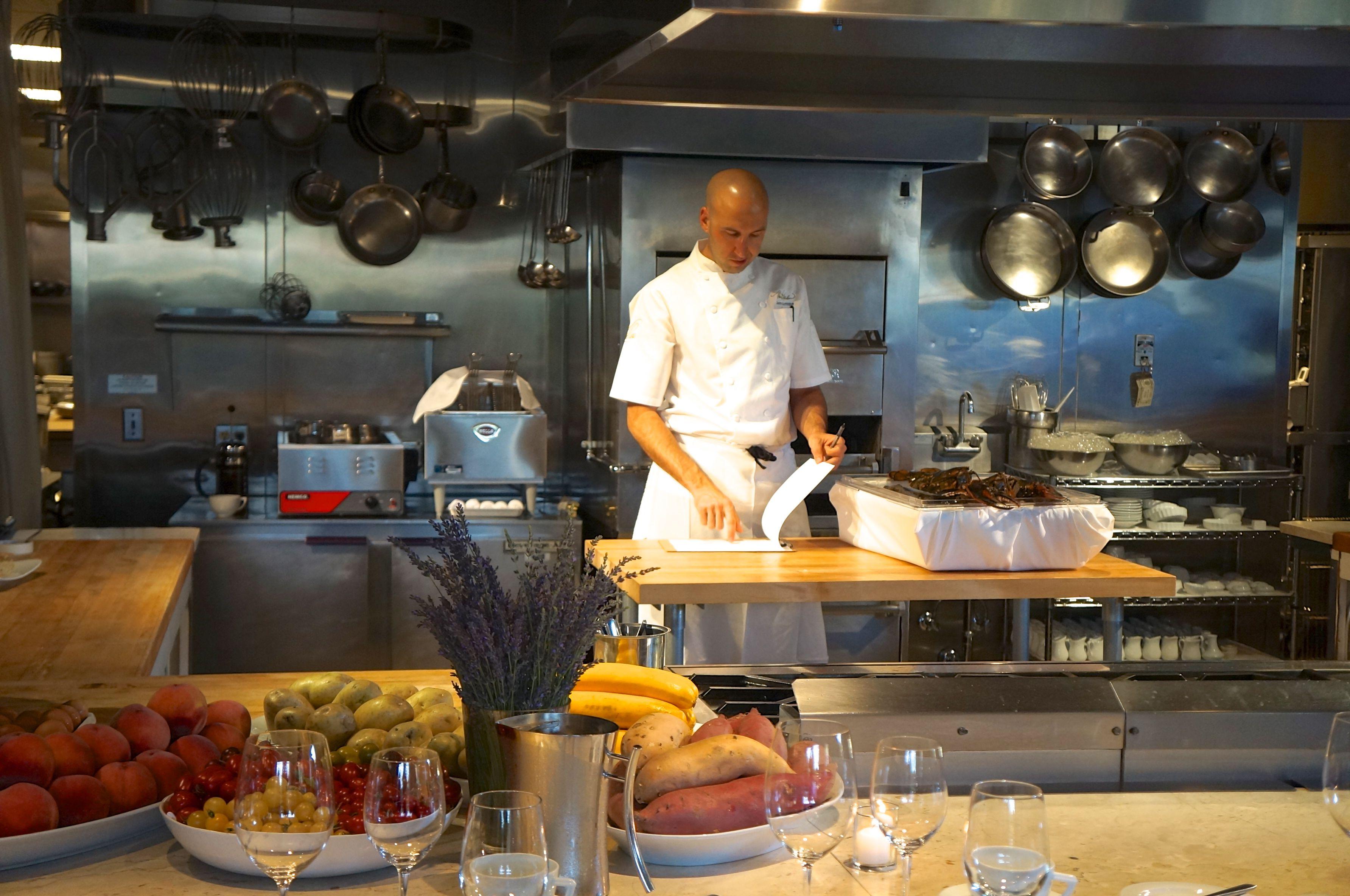chef kitchen // props and equipment, color, texture, etc.   LA Food ...