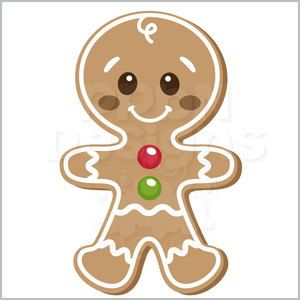 Gingerbread Cookie Man (40% off for Members)