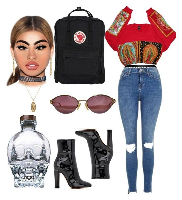 """""""Untitled #173"""" by xxcoconuts on Polyvore featuring Agent Provocateur, Topshop, Gianvito Rossi, Fjällräven, Betsey Johnson, ASOS and Christian Dior"""