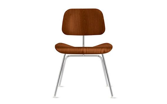 Eames® Molded Plywood Dining Chair (DCM) Eames molded