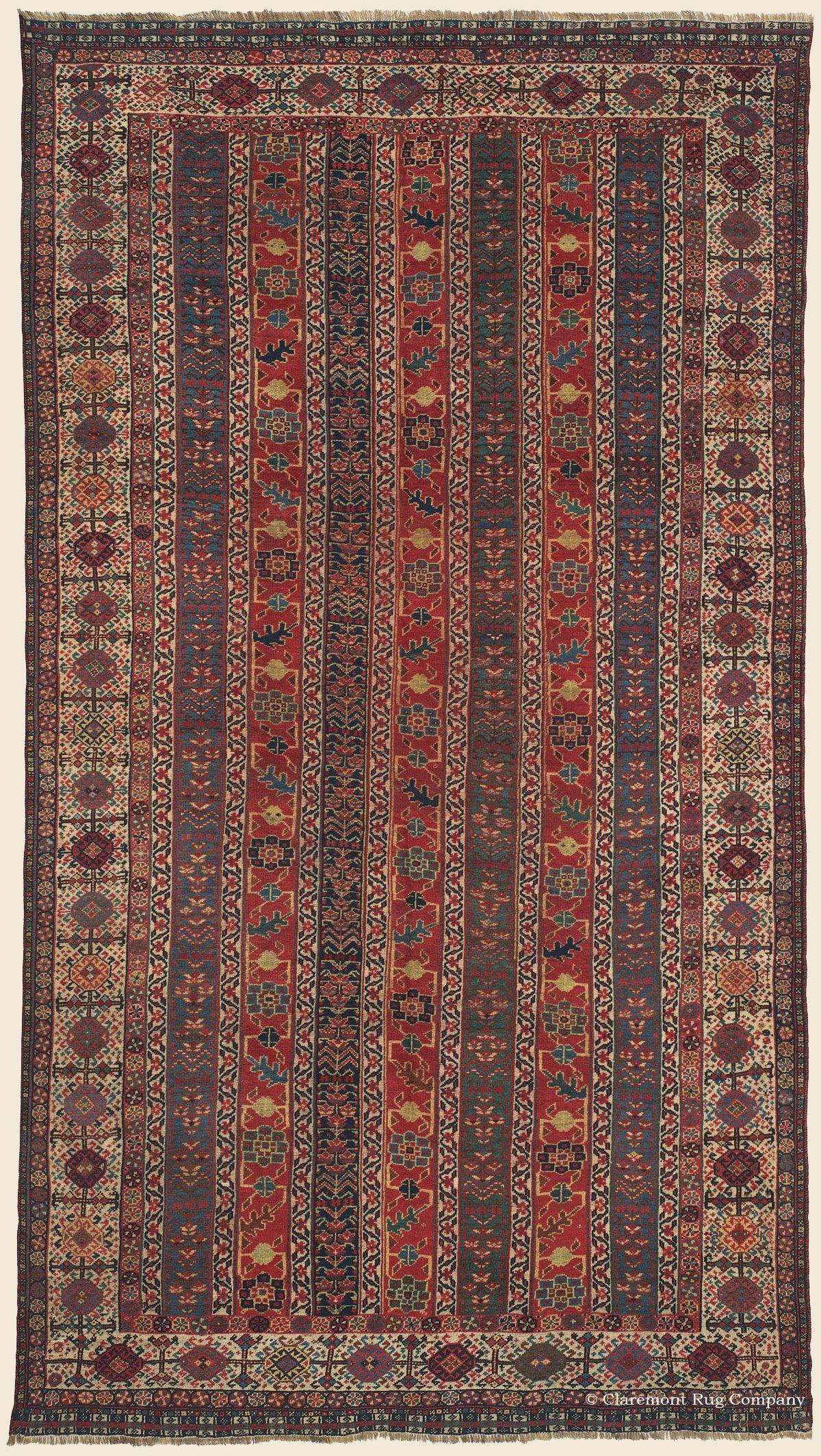 Qashqai Southwest Persian Antique Rug Claremont Company