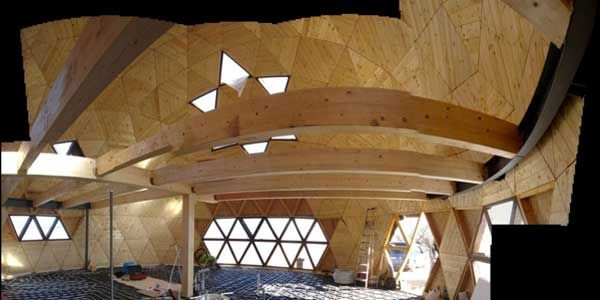 Proyecto de vivienda geod sica autosuficiente - Casas geodesicas ...